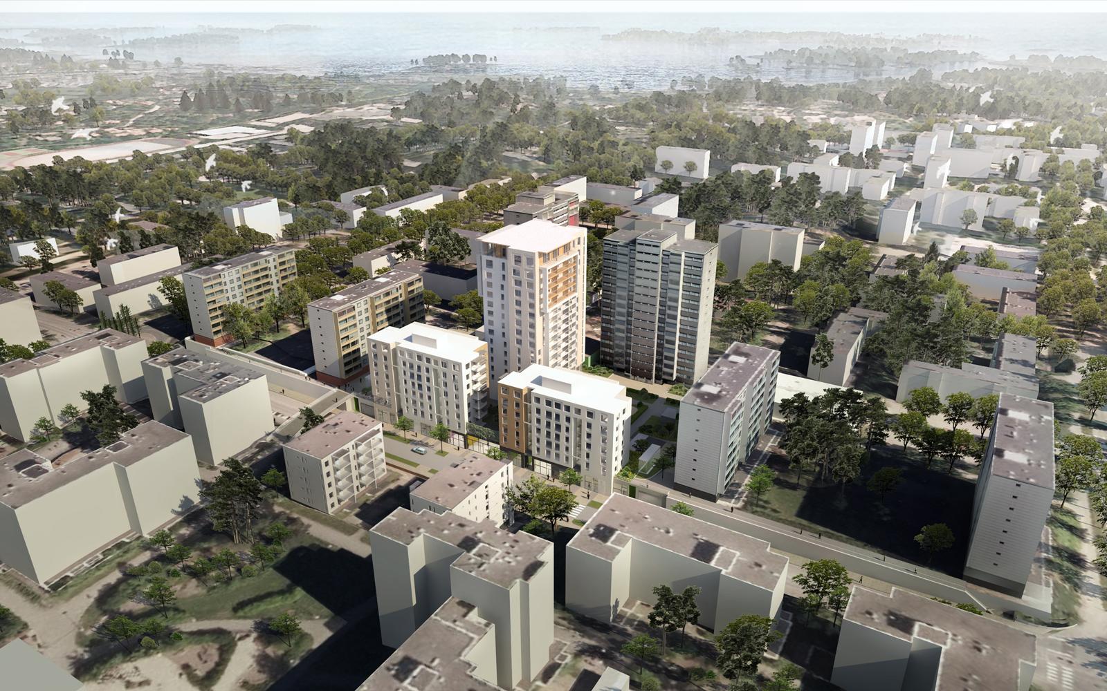 S-Asuntorahasto rakennuttaa kymmeniä asuntoja Espooseen
